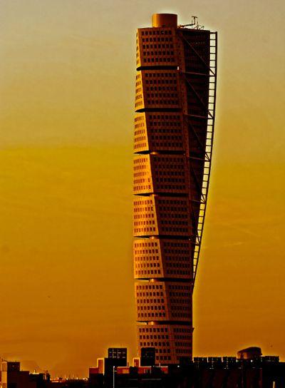 Twisted sunset