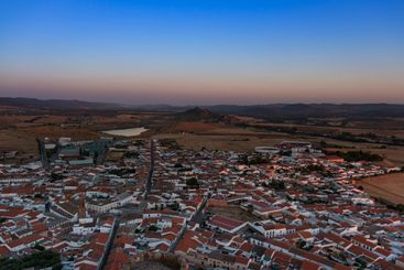Small Andalusian town in southern Spain