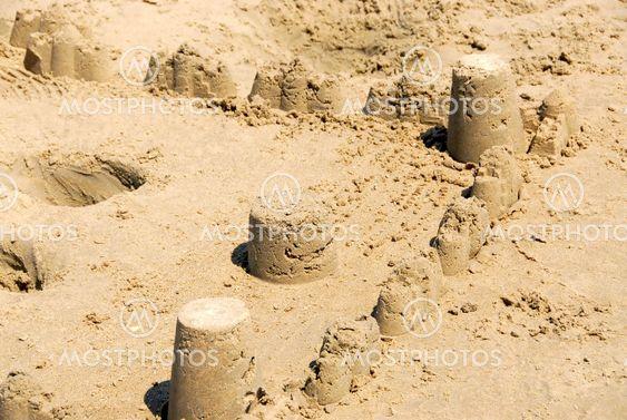 Sand slott
