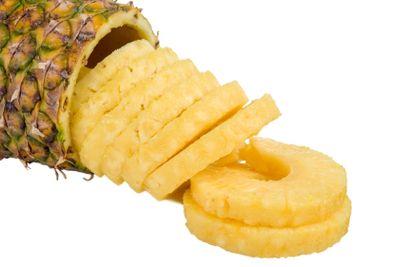 Spilling Pineapple Slices
