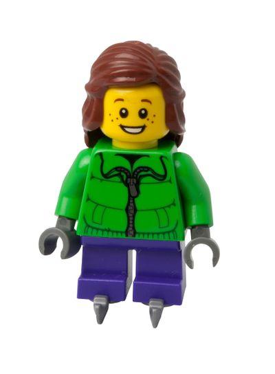 Ice Skater Lego Minifigure