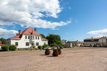 LOVIISA, FINLAND - Finnish Architecture and wooden...