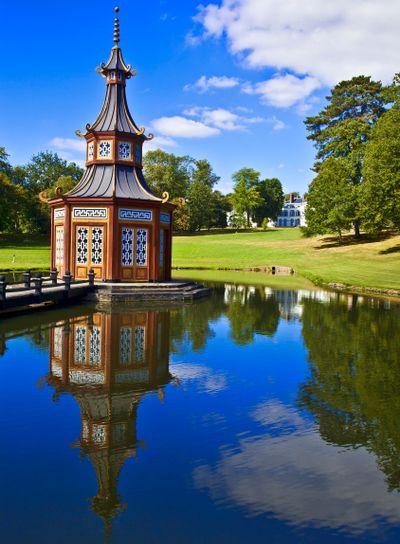 france,yvelines,vallée de chevreuse : parc du chateau de...