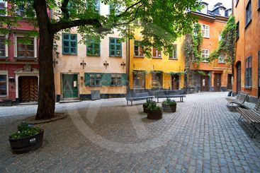 Old Town Square in Stockholm