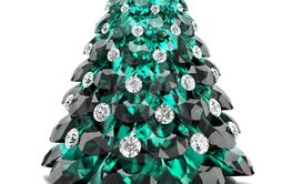 Christmas gem tree