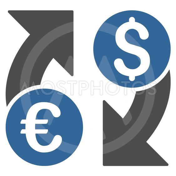 Currency Change Flat Vector Icon