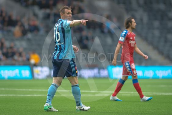 Match between Djurgarden IF and IFK Goteborg at the Tele2...