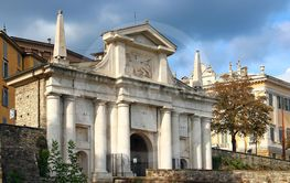Saint Giacomo Gate, Bergamo, Italy