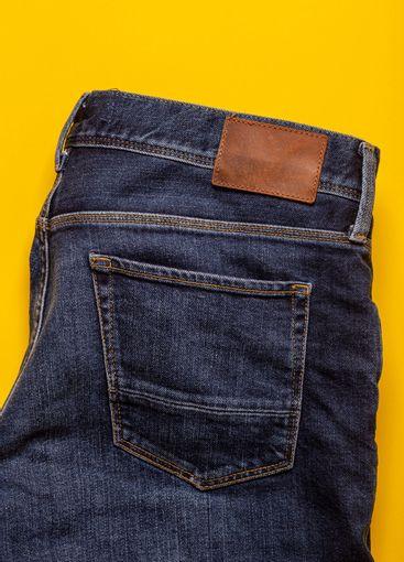 Denim jeans pocket texture