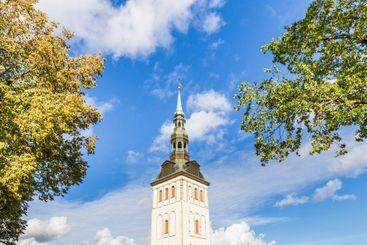 St Olaf Baptist Church in Tallinn in Estonia