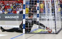 EHF EURO 2020 Qualifiers handball game Ukraine v Denmark
