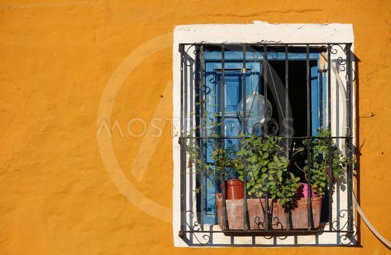 Fönstervy i Marbella