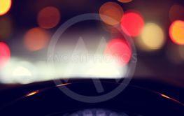 vehicle car steering wheel and blur bokeh abstract...