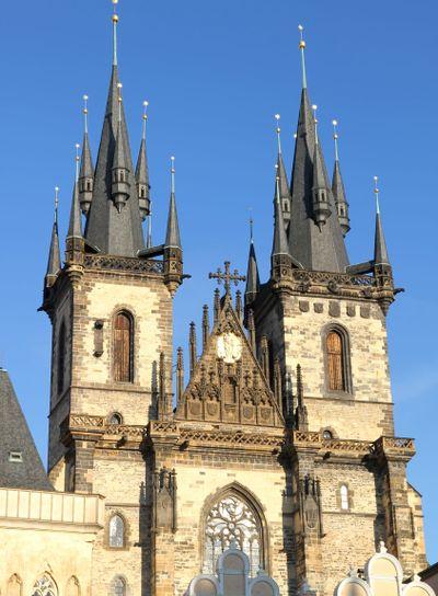 Teyn Church in Praha