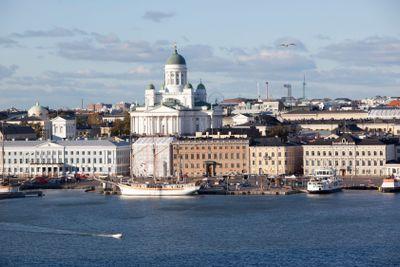 Helsingfors med sin domkyrka