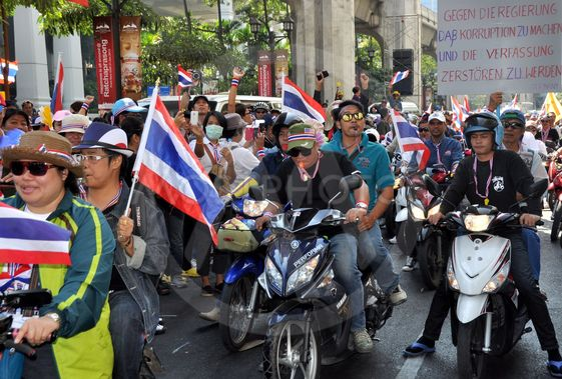 Bangkok, Thailand: Operation Shut Down Bangkok...