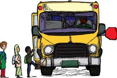 Boarding A Bus