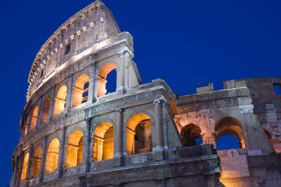 Rome Coliseum close up
