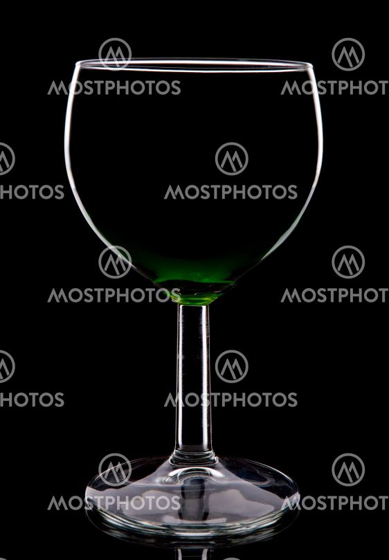 wineglass silhouette