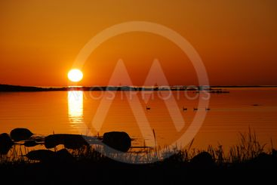 Sunset at Getterön