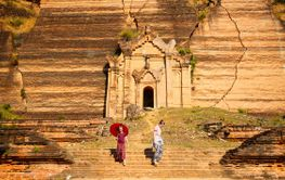 Kids in Mingun Myanmar