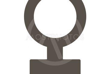 Female Symbol Flat Icon