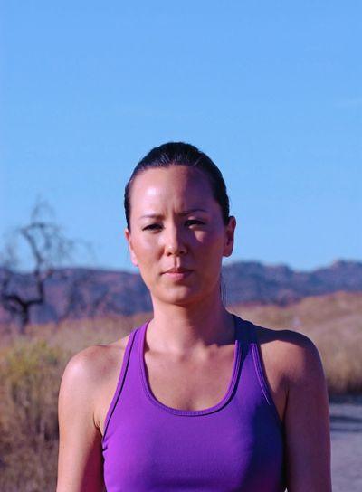 Portrait of a Female Jogger