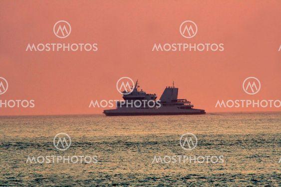 Cruise At Dusk