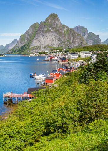 Reine on Lofoten islands in Norway