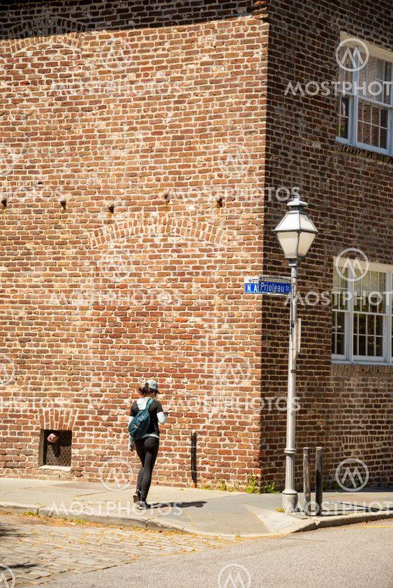 The French Quarter in Charleston South Carolina