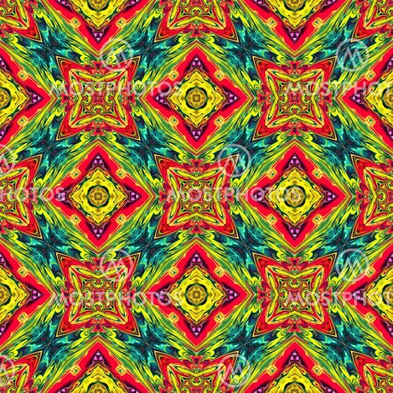 Seamless pattern for decorative products