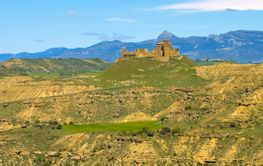 Castillo de Montearagon near Huesca in Spain