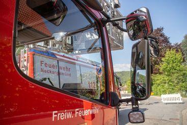 Volunteer fire brigade Neckargemünd, Germany