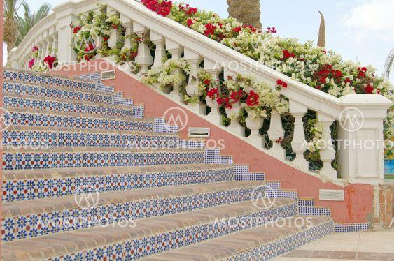 CCourtyard of mediterranean villa