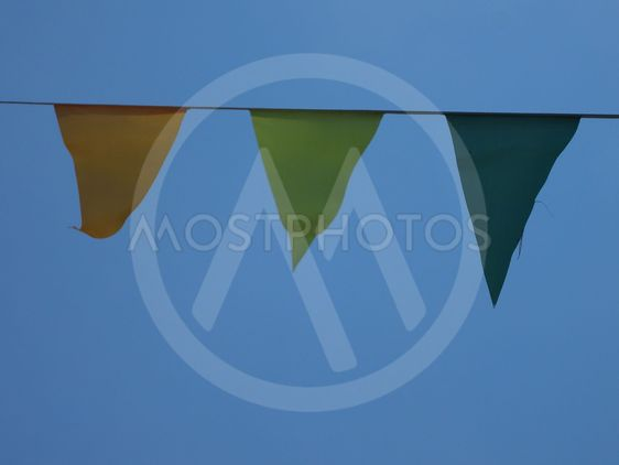 Multicolored flags_1