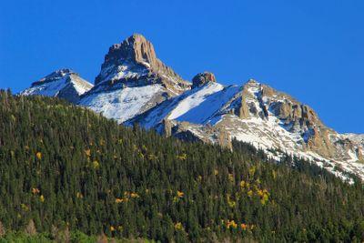 White House mountain, Mount Sneffels Range, Colorado