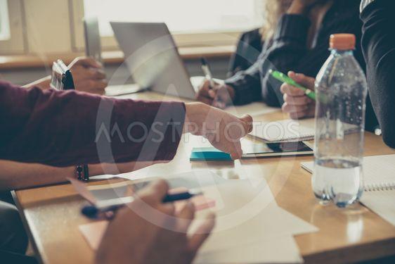 Grupparbete på universitet