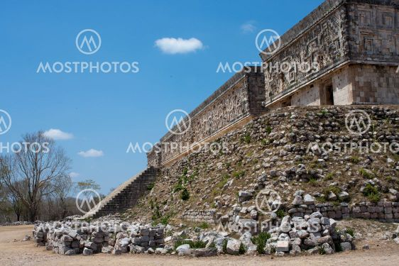 uxmal temples in mexico