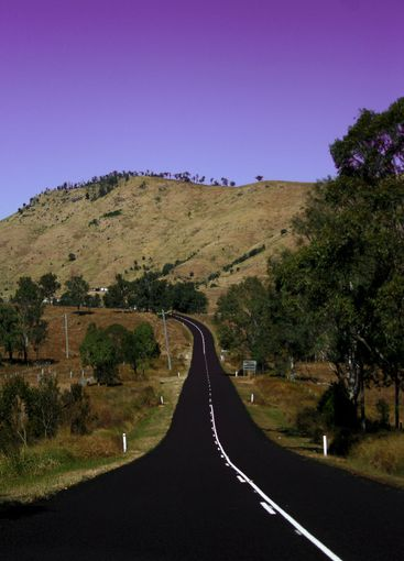 Aussie outback road