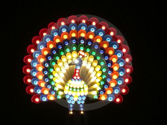 folkets park lighting