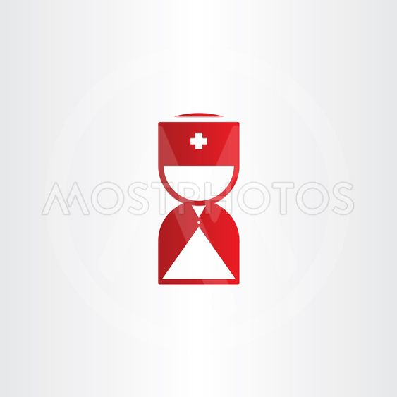 doctor medical man first aid red icon