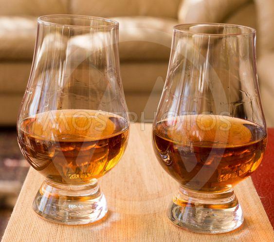 Calvados i glas