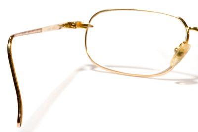 Glasses back view