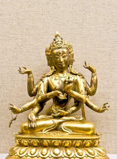 Hindu mythology traditional statuette