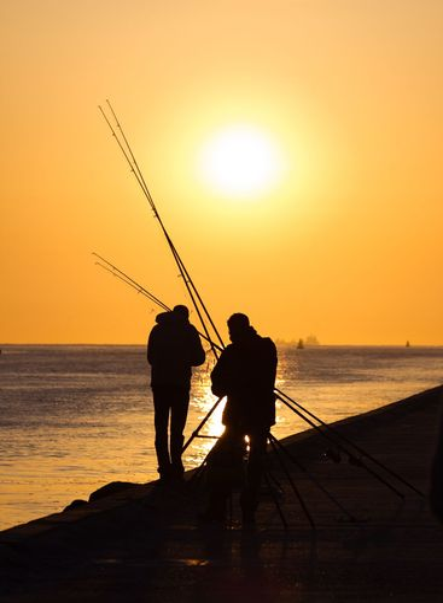 Fishermen on the ...