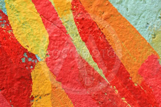 Colorful Strokes of Paint