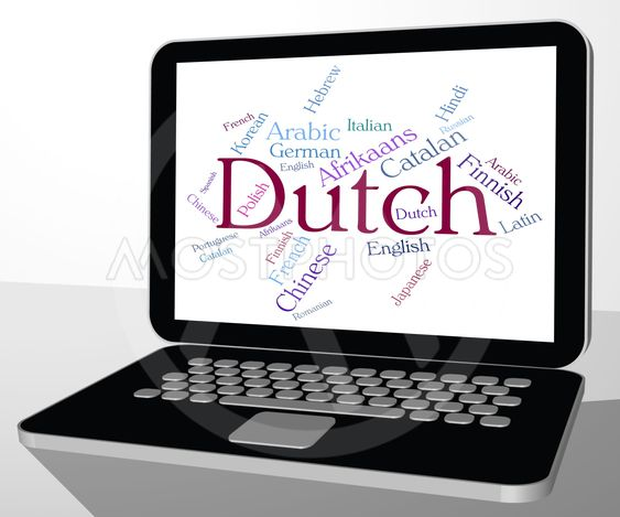 Dutch Language Means The Netherlands And Foreign