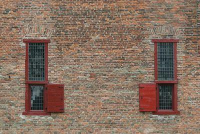 Ancient prison windows
