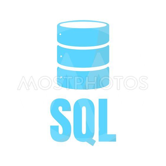 SQL Database Icon Logo Desi
