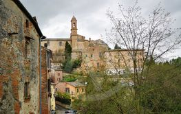 Montalcino is an ancient town in the Tuscan hills famous...